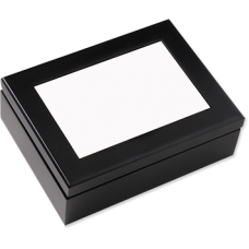 Espresso Black box with insert