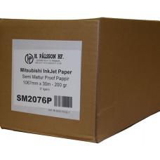 SM2076P Semi matt proof paper 200 g 1067mm x 30 m