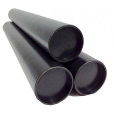 "Black Glossy Postal Tube 2""/ 50,8 mm x 36cm"